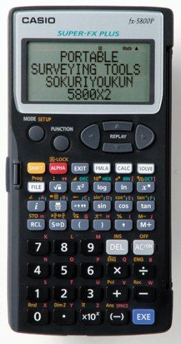 携帯測量ツール 即利用くん 5800X2 測量プログラム電卓 ヤマヨ測定機/YAMAYO
