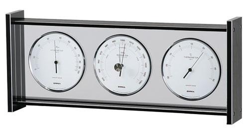 温湿度計 高精度 エンペックス 気圧計 アナログ 日本製 置き型 スーパーEXギャラリー気象計 EX-796【送料無料(沖縄県除く)】