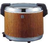 タイガー魔法瓶/TIGER 業務用 保温専用電子ジャー 炊きたて 4.0L 2升2合用 JHA-4000 MO 木目