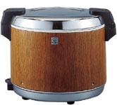 タイガー魔法瓶/TIGER 業務用 保温専用電子ジャー 炊きたて 5.4L 3升用 JHA-5400 MO 木目