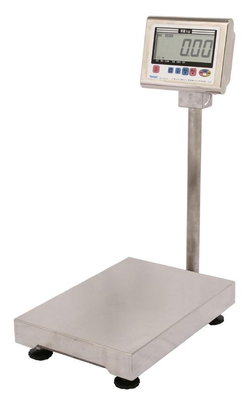 【送料無料】大和製衡/YAMATO 防水形デジタル台はかり 検定品 150kg DP-6700K