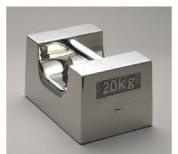 【送料無料】新光電子 非磁性ステンレス 枕型分銅(M1級(2級)適合) 20kg