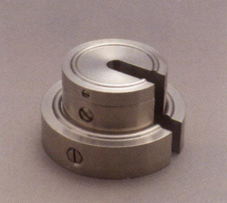 【送料無料】新光電子 非磁性ステンレス 増おもり型分銅(M1級(2級)適合) 2kg