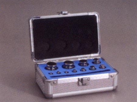 【送料無料】新光電子 円筒分銅アルミ製組分銅ケース 5KS 2kg~1mg(20~27個)AC-5KS