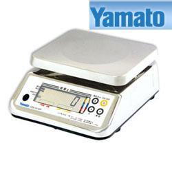 【送料無料】大和製衡/YAMATO 防水デジタル上皿はかり 検定品 15kg UDS-5V-WP