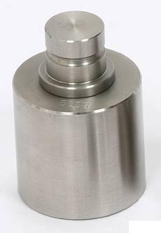 【送料無料】大和製衡/YAMATO 円筒型分銅(バラ分銅)ステンレス製 検定品 2kg