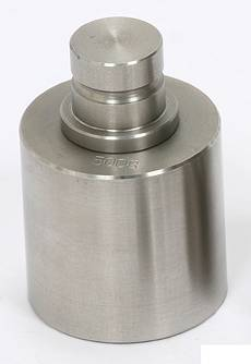【送料無料】大和製衡/YAMATO 円筒型分銅(バラ分銅)ステンレス製 検定品 1kg