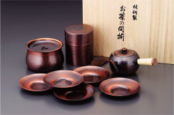 【送料無料】アサヒ 食楽工房 急須・茶筒・建水・茶托セット CB525