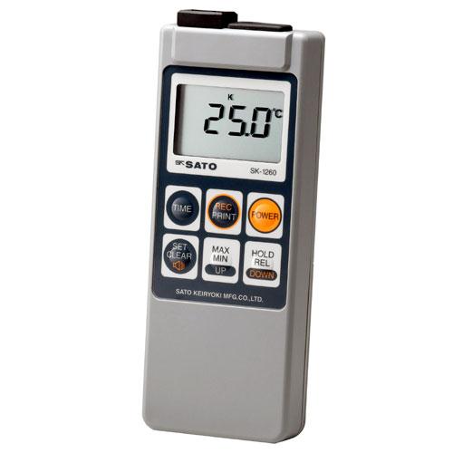 佐藤計量器/SATO 防水型デジタル温度計(指示計のみ) SK-1260
