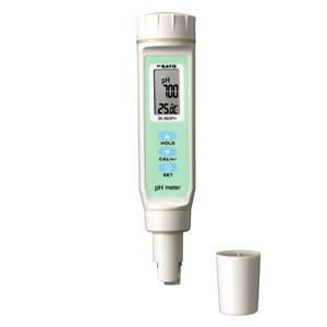 佐藤計量器/SATO ペーハー測定器pH計 pH測定器 水質測定器 土壌測定器 防水 自動温度補正 ペンタイプpH計 SK-662PH(pH値・温度表示)