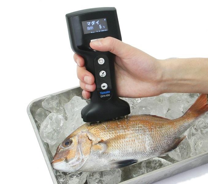 【送料無料】大和製衡/YAMATO 魚用体脂肪計 フィッシュアナライザ DFA100