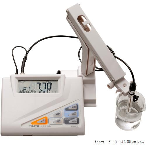 佐藤計量器/SATO 卓上型pH計 SK-650PH (指示計のみ)