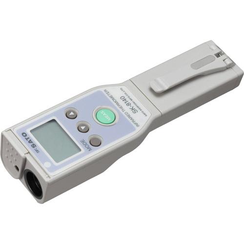 佐藤計量器/SATO 温度計 非接触 赤外線 レーザーマーカ 触れずにはかれる デジタル 放射温度計(2点レーザ、スポット測定用) SK-8140