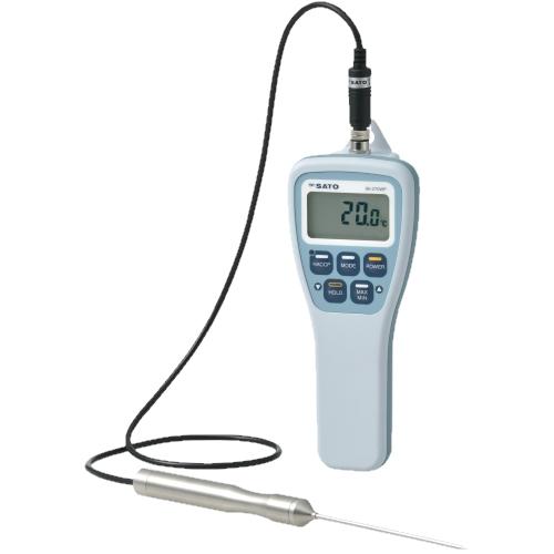 防水型 デジタル 温度計 SK-270WP 標準センサ付(S270WP-01) No.8078-00 HACCP 佐藤計量器/SATO