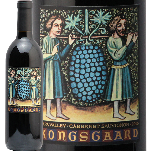 コングスガード カベルネ ソーヴィニヨン ナパ ヴァレー 2016 KONGSGAARD Cabernet Sauvignon 赤ワイン アメリカ カリフォルニア バレー 中川ワイン PP93-95