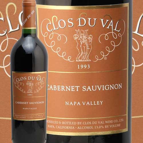 クロ デュ ヴァル ナパ ヴァレー カべルネ ソーヴィニヨン 1993 CLOS DU VAL NAPA VALLEY CABERNET SAUVIGNON 赤ワイン カリフォルニア 蔵出し