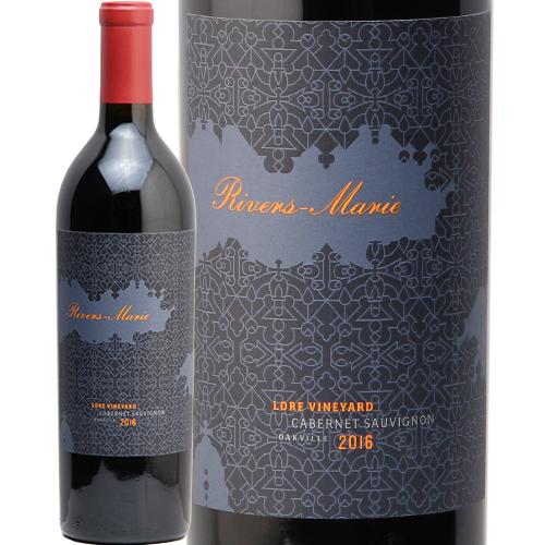 リヴァース マリー カベルネ ソーヴィニヨン ロア ヴィンヤード 2016 RIVERS MARIE Cabernet Sauvignon Lore Vineyard 赤ワイン アメリカ カリフォルニア 中川ワイン あす楽 即日出荷 ナパヴァレー バレー