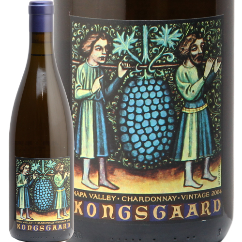 コングスガード シャルドネ ナパヴァレー 2004 KONGSGAARD Chardonnay 白ワイン アメリカ カリフォルニア やや辛口 希少 古酒 飲み頃
