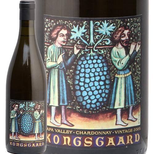 コングスガード シャルドネ ナパヴァレー 2005 KONGSGAARD Chardonnay 白ワイン アメリカ カリフォルニア やや辛口 希少 古酒 飲み頃