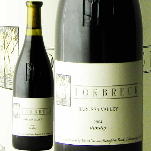 トルブレック ランリグ 2004 TORBRECK BAROSSA VALLEY Run Rig 赤ワイン オーストラリア ミレジム フルボディ あす楽 即日出荷