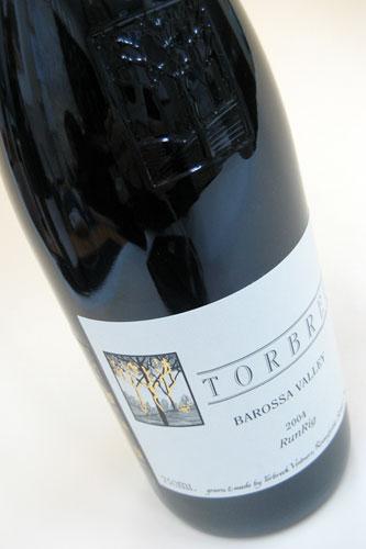 トルブレック ラン リグ 2003 TORBRECK BAROSSA VALLEY Run Rig 赤ワイン オーストラリア フルボディ あす楽 即日出荷