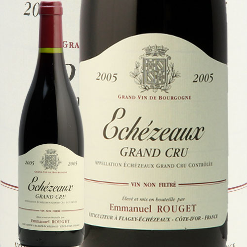 エシェゾー [2005] エマニュエル・ルジェ赤ワイン フランス ブルゴーニュ エマニエル