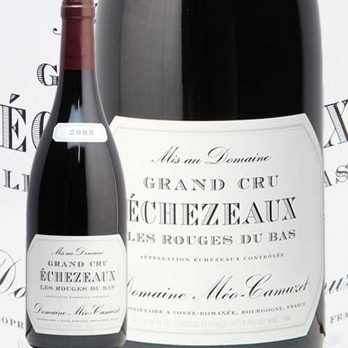 エシェゾー グラン クリュ レ ルージュ デュ バ 2008 メオカミュゼ 赤ワイン フランス ブルゴーニュ あす楽 即日出荷