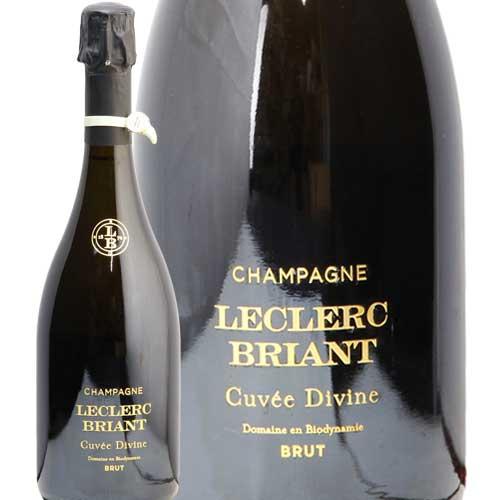 ルクレール ブリアン キュヴェ ディヴィーヌ ソレラ NV CUVEE DIVINE SOLERA S.A. LECLERC BRIANT フランス シャンパーニュ シャンパン やや辛口 あす楽 即日出荷