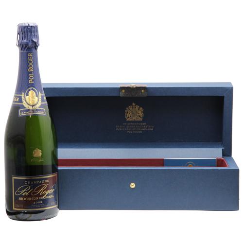 キュヴェ サー ウィンストン チャーチル 2008 Cuvee Sir Winston Churchill シャンパン フランス シャンパーニュ 箱付き ポル ロジェ