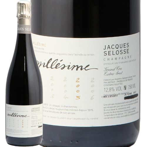 ジャック セロス ミレジム ブリュット 2005 Jacques Selosse Millesime シャンパン フランス シャンパーニュ