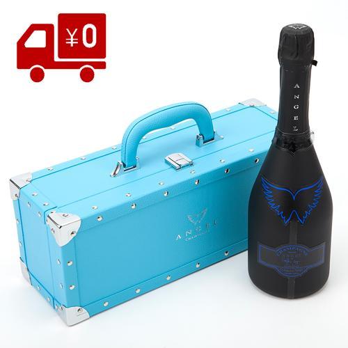 エンジェル シャンパン ブリュットヘイロー ブルー フランス 辛口 ラベル フランス 箱付き 正規品 エンジェルシャンパン 送料無料 ANGEL CHAMPAGNE NV BRUT HALO BLUE