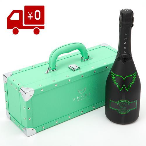 エンジェル シャンパン ブリュットヘイロー グリーン フランス 辛口 ラベル フランス 箱付き 正規品 エンジェルシャンパン 送料無料 ANGEL CHAMPAGNE NV BRUT HALO GREEN