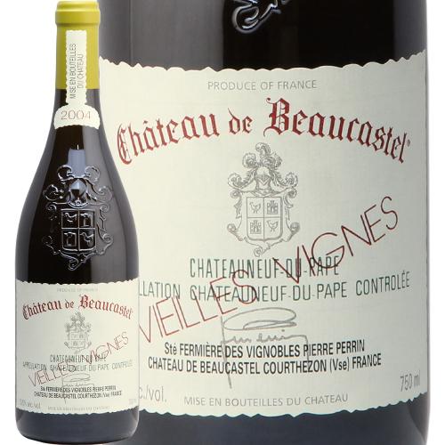 シャトーヌフ デュ パプ ルーサンヌ V.V. 2004 シャトー ド ボーカステル ブラン CHATEAUNEUF DU PAPE Roussanne V.V. BLANC CHATEAU DE BEAUCASTEL 白ワイン フランス コートデュローヌ やや辛口 あす楽 即日出荷