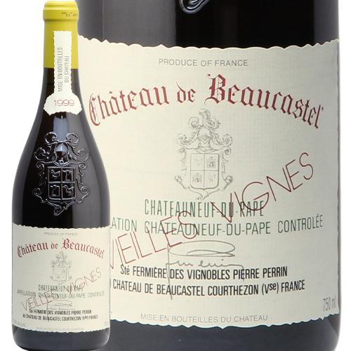 シャトーヌフ デュ パプ ルーサンヌ V.V. 1999 シャトー ド ボーカステル ブラン CHATEAUNEUF DU PAPE Roussanne V.V. BLANC CHATEAU DE BEAUCASTEL 白ワイン フランス コートデュローヌ やや辛口 あす楽 即日出荷