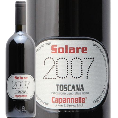 ソラーレ 2007 SOLARE カパンネッレ 赤ワイン イタリア トスカーナ エノテカ 即日出荷