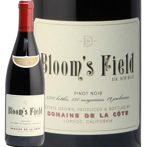 ドメーヌ ド ラ コート ピノノワール ブルームス フィールド 2016 DOMAINE DE LA COTE Pinot Noir Bloom's Field 赤ワイン アメリカ カリフォルニア 中川ワイン フルボディ
