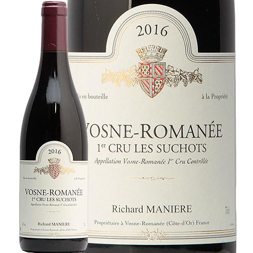 ヴォーヌ ロマネ 1級 レ スショ 2016 リシャール マニエール Vosne Romanee 1er Les Suchots Richard Maniere 赤ワイン ブルゴーニュ ピノ ノワール ミディアム プルミエクリュ フィラディス
