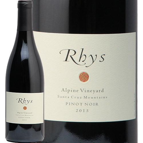 リース ピノ ノワール アルパイン ヴィンヤード 2015 Rhys Pinot Noir Alpine Vineyard 赤ワイン アメリカ カリフォルニア サンタ クルーズ マウンテン 中川ワイン フルボディ