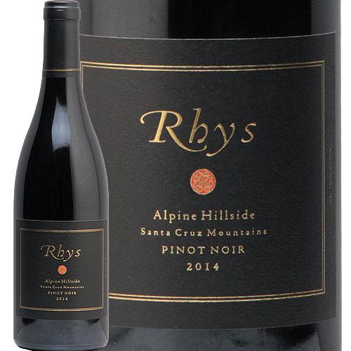 リース ピノ ノワール アルパイン ヴィンヤード ヒルサイド 2014 Rhys Pinot Noir Alpine Vineyard Hillside 赤ワイン アメリカ カリフォルニア サンタ クルーズ マウンテン 中川ワイン 限定品 希少ワイン