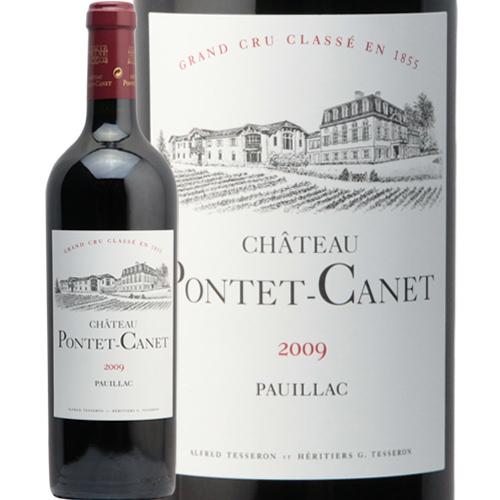 シャトー ポンテ カネ 2009 Chateau Pontet Canet 赤ワイン ボルドー ポイヤック パーカー ポイント 100点 JSR