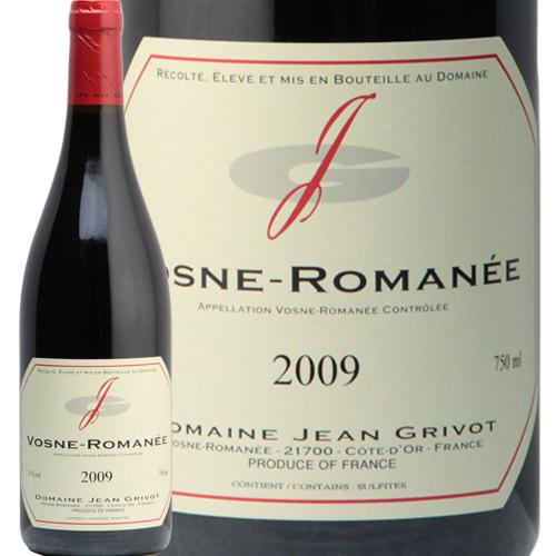 ヴォーヌ ロマネ 2009 ジャン グリヴォ Vosne Romanee Jean Grivot 赤ワイン フランス ブルゴーニュ 村名 飲み頃 ピノ ノワール フィラディス