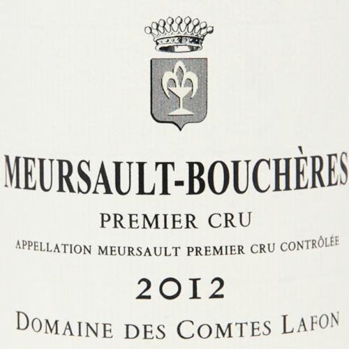 ムルソー 1級 ブシェール 2012 コント ラフォン Meursault 1er Boucheres Comtes Lafon 白ワイン フランス ブルゴーニュ シャルドネ フィラディス やや辛口