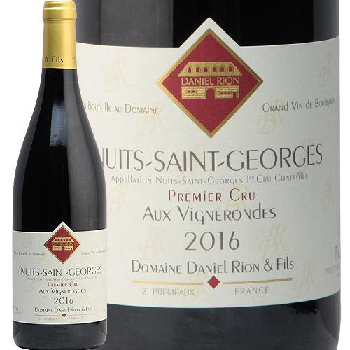 ニュイ サン ジョルジュ 1級 ヴィーニュ ロンド 2016 ダニエル リオン Nuits St George 1er Vignes Rondes Daniel Rion 赤ワイン ブルゴーニュ ピノ ノワール フィラディス フランス プルミエクリュ