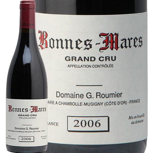 ボンヌ マール グラン クリュ 2006 ジョルジュ ルーミエ Bonnes Mares Grand Cru Georges Roumier 赤ワイン フランス ブルゴーニュ シャンボール ミュジニー フィラディス 特級