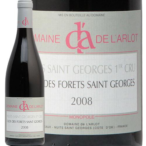 ニュイ サン ジョルジュ 1級 クロ デ フォレ サン ジョルジュ 2008 ドメーヌ ラルロ Nuits St. Georges 1er Clos des Forets St. Georges L'Arlot 赤ワイン フランス ブルゴーニュ フィラディス