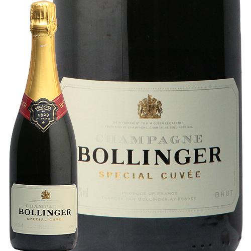 ボランジェ スペシャル キュベ NV 箱付き Bollinger Special Cuvee フランス 辛口 熟成 アルカン シャンパン シャンパーニュ