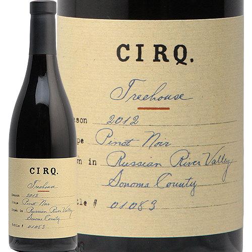 サーク ピノ ノワール トゥリー ハウス ヴィンヤード 2012 CIRQ. Pinot Noir Tree House Vineyard 赤ワイン アメリカ カリフォルニア 中川ワイン