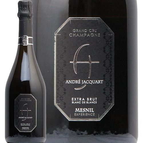 メニル エクスプリエンス ブリュット ブラン ド ブラン グラン クリュ NV アンドレ ジャカール Mesnil Experience Blanc de Blancs Grand Cru Andre Jacquard シャンパン フランス シャンパーニュ ノンドゼ 極辛口 RM いろはわいん