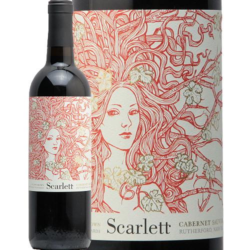 スカーレット カベルネ ソーヴィニヨン 2017 スカーレット ワインズ Scarlett Cabernet Sauvignon 赤ワイン アメリカ カリフォルニア ナパ ヴァレー バレー ラザフォード リエゾン フルボディ