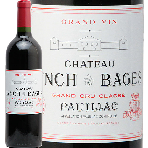 シャトー ランシュ バージュ 2005 Chateau Lynch Bages 赤ワイン フランス ボルドー メドック サンジュリアン 5級 JSR 格付け